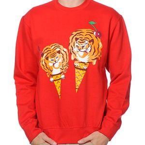 Icecream Cones & Bones Sweatshirt Pharell Williams